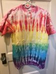 Rainbow Stripe Tie-dye